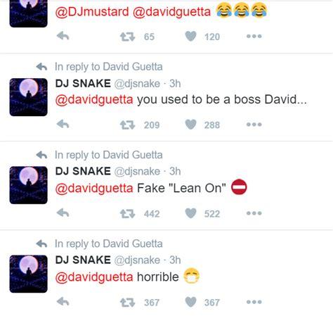 dj snake gana david guetta es atacado en twitter por su compatriota dj snake