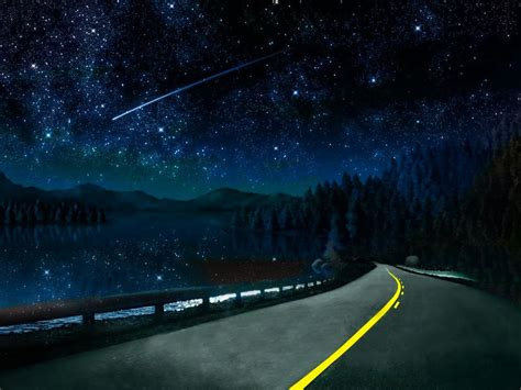 Cool Beautiful Night Sky Wallpapers Free Download
