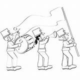Coloring Parade Pages Fun Own Create Parents Books Marching sketch template