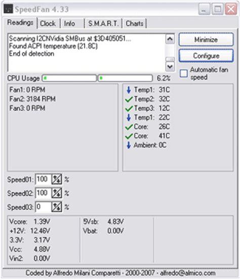 Speedfan Portable Fan Speed Temp Control Usb Pen