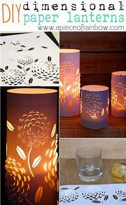 Minutes Templates Diy Paper Lanterns With Beautiful 3d Flowers Design A