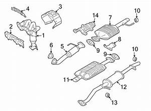 Mazda Tribute Catalytic Converter  Converter  Catalyst