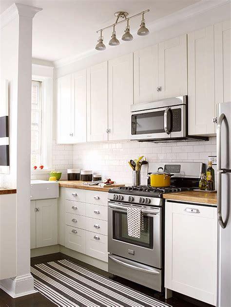 Small White Kitchens  Delightful Kitchen Designs  Small