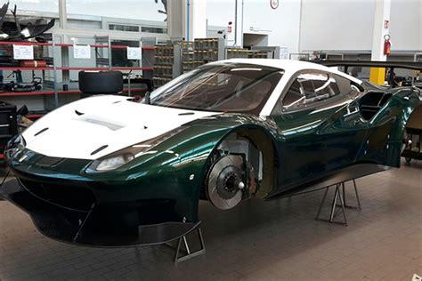 The Ferrari 488 Gt3 In-build