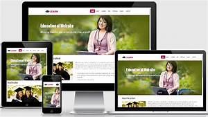 Learn Educational Free Responsive Web Template WebThemez