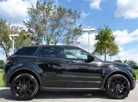 land rover evoque black modified 2014 land rover range rover evoque black limited edition