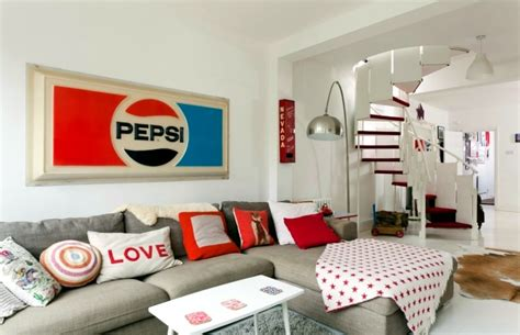 Lamps Retro by Installation In Retro Style Furniture And The Colors Of