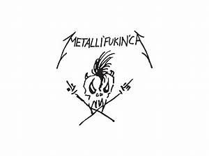 Metallica Wallpapers | Band logos - Rock band logos, metal ...