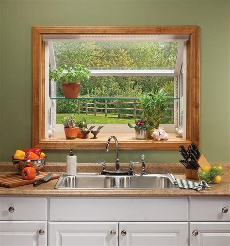 garden window ideas add light  space   kitchen