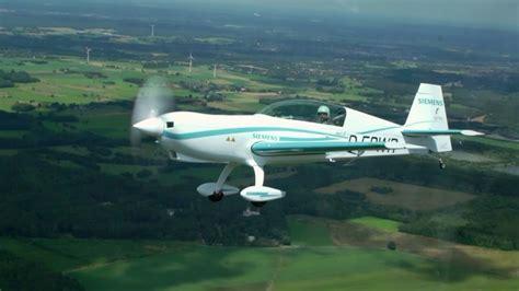 electric plane  siemens motor sets   speed