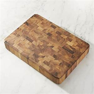 Large End Grain Cutting Board Block Crate and Barrel