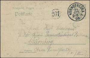 B Quadrat Nürnberg : bayern orts postkarte n rnberg 2 b a 23 kreisnummer 201 philatelie dietrich ~ Buech-reservation.com Haus und Dekorationen