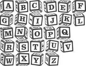 baby block letters font