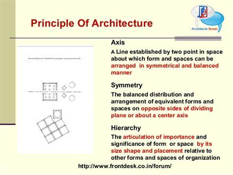 design principles architecture principle of architecture