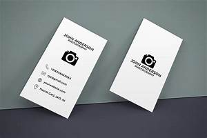Free photography vertical business card creativetacos for Horizontal business cards