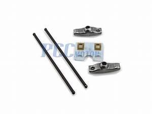 Valve Push Rod Set Guide Plate W   Rocker Arms Honda 11hp