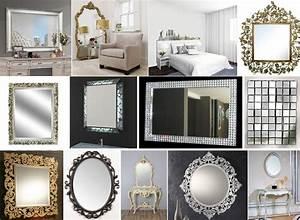 Miroir Deco Salon : miroirs design pas cher miroirs design rectangulaire ~ Melissatoandfro.com Idées de Décoration
