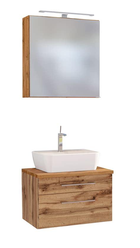 Badezimmer Spiegelschrank 60 X 60 by Davos Waschtisch Set Wotan Eiche 60 Inkl Spiegelschrank