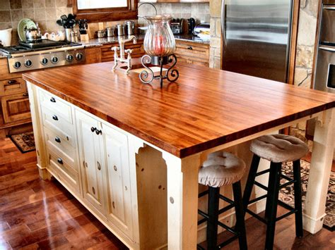 Texas Mesquite Island Top By Devos Custom Woodworking