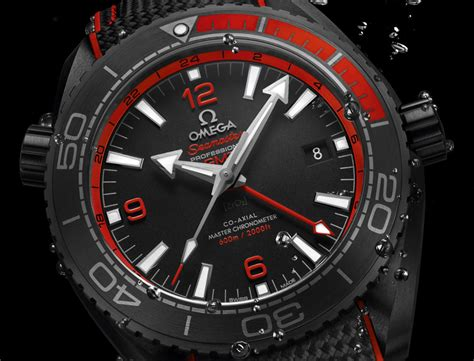 omega seamaster planet gmt black watches in ceramic ablogtowatch