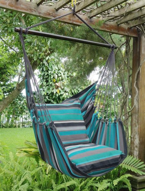 How To Hang A Hammock On A Porch by Home Dzine Garden Ideas Easy To Make Hanging Hammock