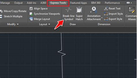 By Definition A Break Line In Autocad Is A Polyline In