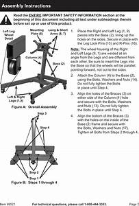 Harbor Freight 2000 Lb Capacity Foldable Engine Stand