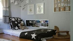 Lit Au Sol : 24 mod les de lit au ras du sol pour la chambre coucher ~ Teatrodelosmanantiales.com Idées de Décoration