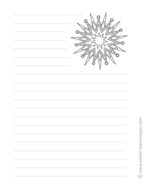 Bilder Groß Drucken by Weihnachtsbriefpapier Zum Ausdrucken Und Ausmalen