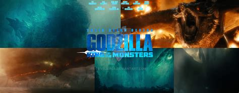 Godzilla King Of The Monsters 2019 Poster By Leivbjerga On