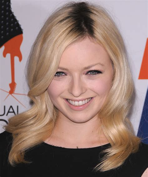 francesca fisher eastwood long wavy light blonde hairstyle