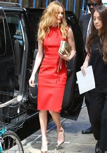 Kate Bosworth Vision Red She Displays Her Long