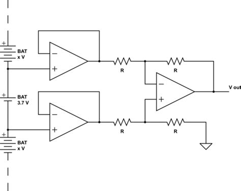 High Impedance Important For Differential Amp