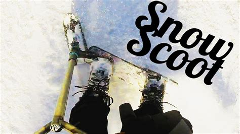 Chilli Snowblades + Quadrum Deck = Snow Scoot! │ The Vault