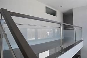 Garde Corps Contemporain : escalier moderne limon central boiseries sir laurier copie 1 ~ Melissatoandfro.com Idées de Décoration