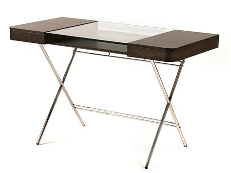 glass writing desk wood writing desk with drawers and glass top cosimo weng 200