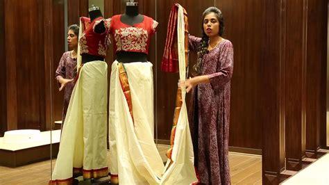 bengali saree draping how to wear a saree in bengali style saree draping
