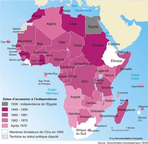 cuisine actuelle de l afrique cartes l 39 afrique subsaharienne de la décolonisation à
