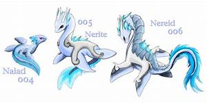 Old Fakemon: Water Dragons by Blue-Hearts on DeviantArt
