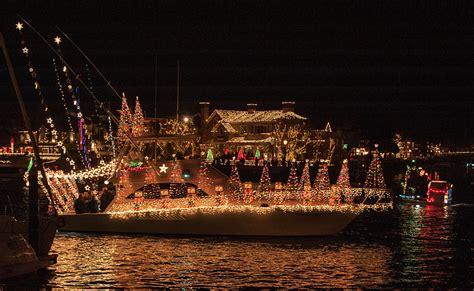 newport local news boat parade shines bright