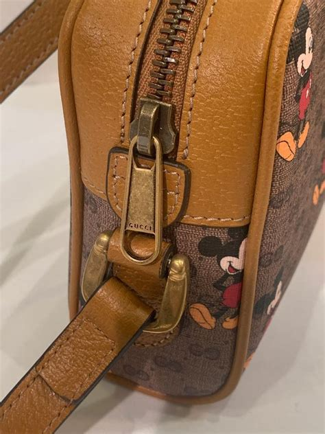 sold  gucci mickey mouse year   rat crossbody shoulder bag purse  stdibs