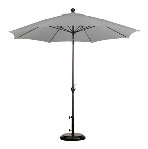 9 taupe patio umbrella for outdoor dining