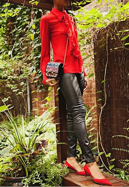 Saks Shoe Fifth Avenue Leggings Leather Choo