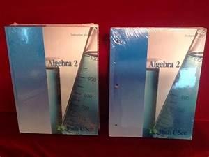 Math U See Algebra 2 Instruction Manual  U0026 Dvd  Student