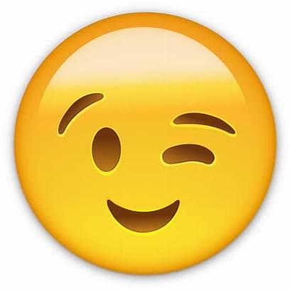 Emoji Smile Wink Smiley Transparent Whatsapp Emoticon