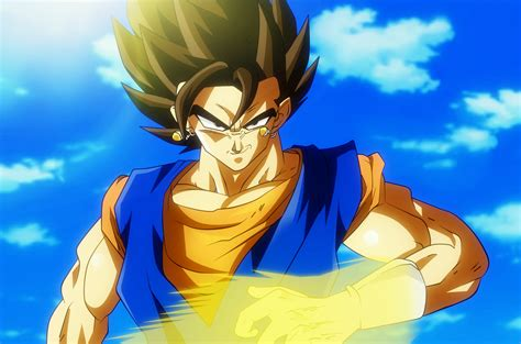 wallpaper dragon ball super vegito