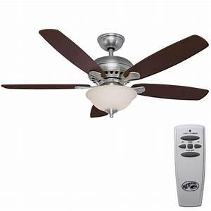 Hampton bay southwind in brushed nickel ceiling fan