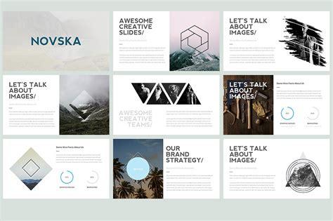 free modern powerpoint templates novska modern powerpoint template presentation templates creative market