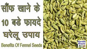 सौंफ खाने के फायदे | benefits of fennel seeds | fennel ...