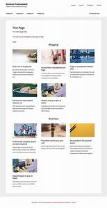 custom page template to show posts grouped by selected With custom category template wordpress